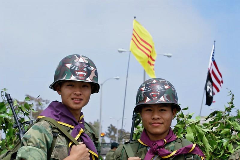 Republic Of Vietnam Armed Forces Color Guard