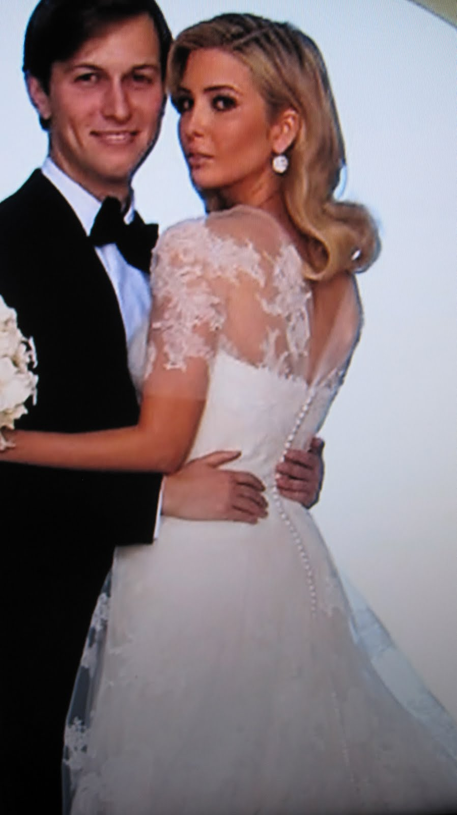 Ivanka Trump Wedding Dress Vera