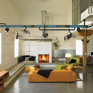 Industrial Chic Interiors