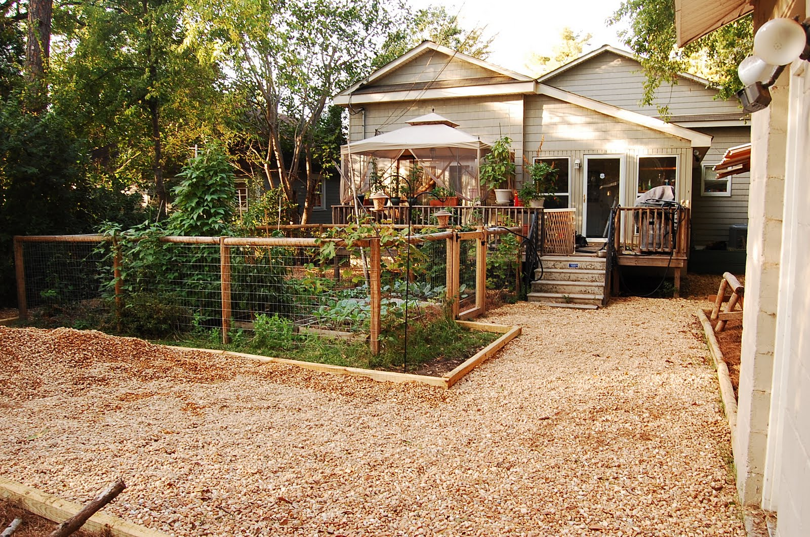 Urban Self-Sufficientist: Backyard remodel on the Cheap