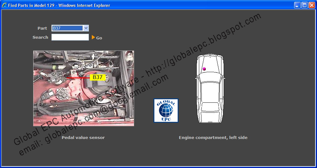Global Epc Automotive Software  Mercedes Benz Starfinder