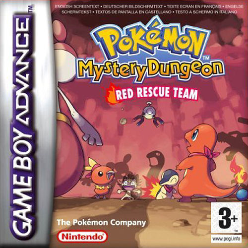 Pokemon Mystery Dungeon - Red Rescue Team (E)