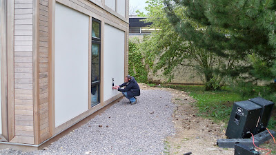BaleHaus @ Bath – Modcell Acoustic Testing