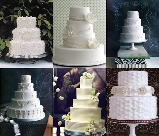 beyaz yada uçuk renklerde pastel görünen düğün pastaları