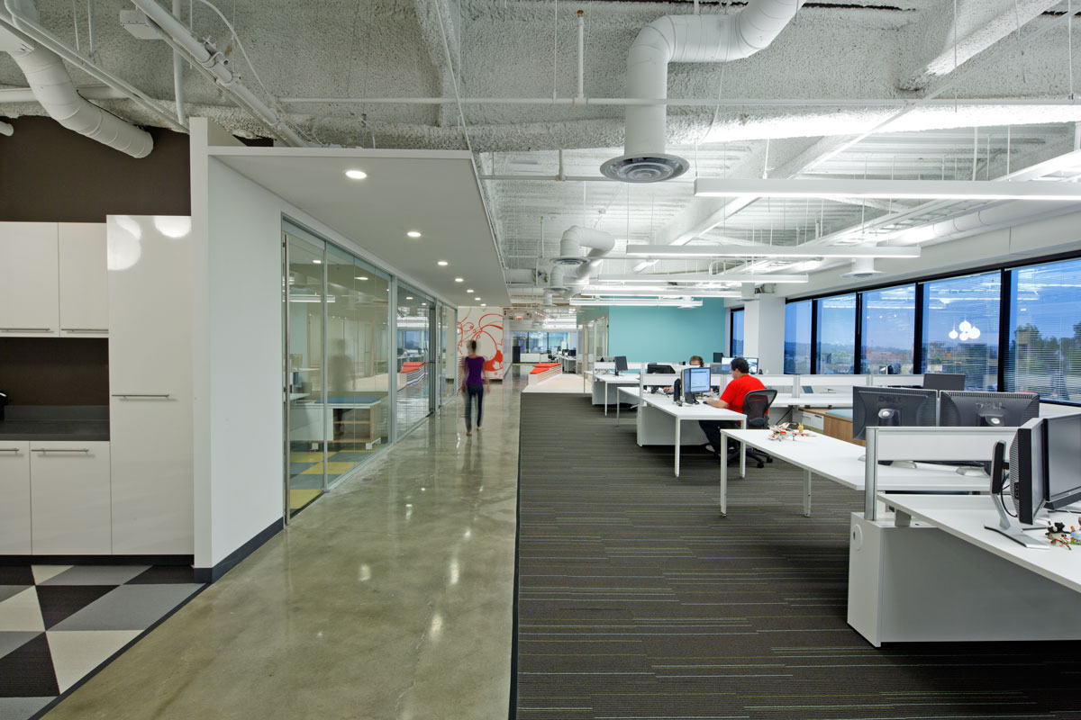 Inside the Latest Dreamhost Office - Amazing Architecture