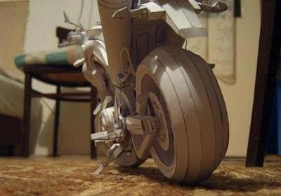 bangkong hejo: Gila Miniatur Motor Dari Kertas, Keren!