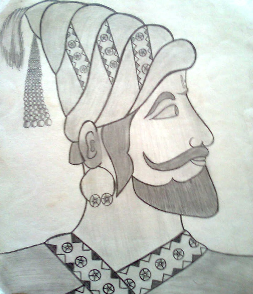 A pencil sketch by me