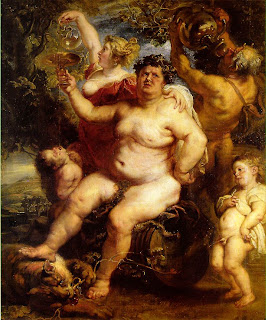 Bacchus knew how to enjoy himself