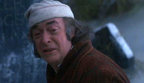 Much as I love him, I want Michael Caine-Scrooge is a strictly post December 8th affair