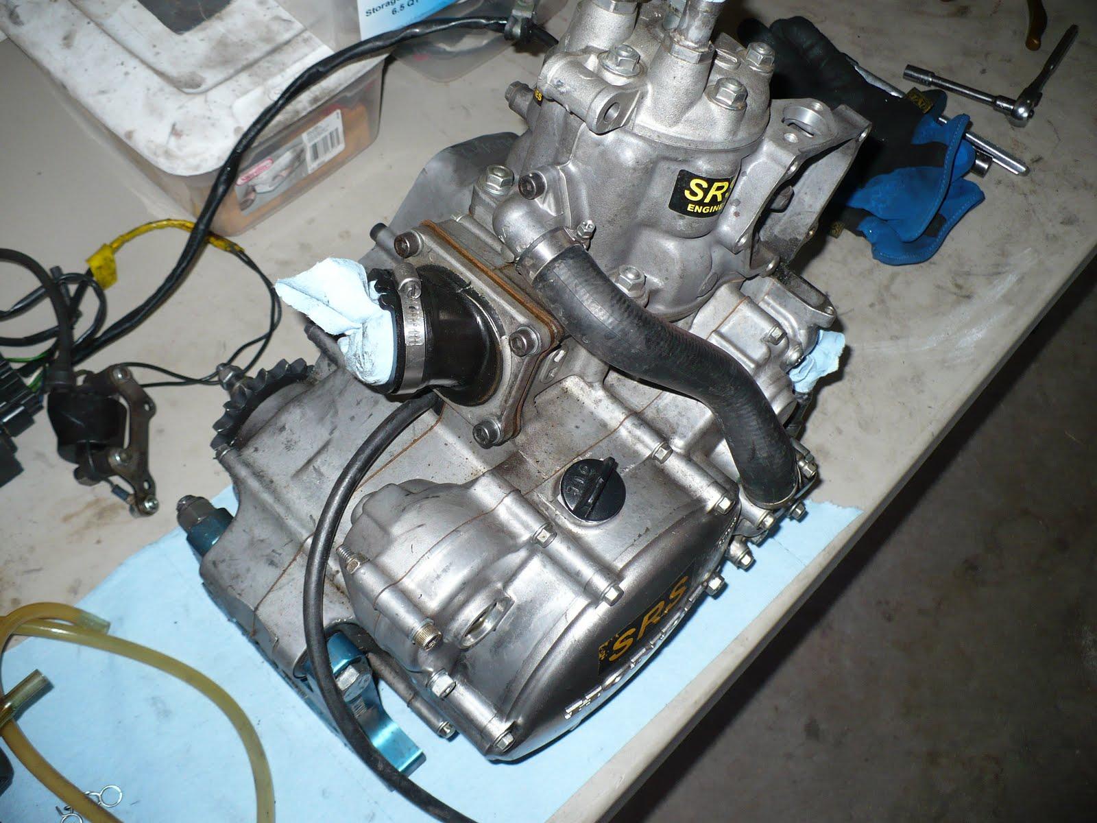 YAW MOMENT RACING: Off-season Refresh for my Honda CR125
