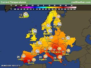 JetSetPilot Blog: September 2009  |Weather Forecast Map Europe