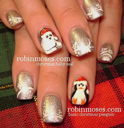 Nail Art By Robin Moses Quot Christmas Nails Quot Quot Cute Christmas Nails Quot Quot Easy Christmas Nails