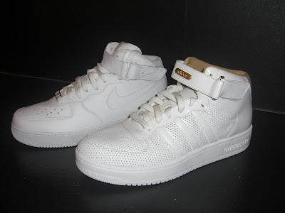 nik air force vs adidas