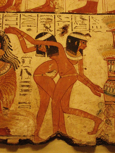 Egypian erotic art