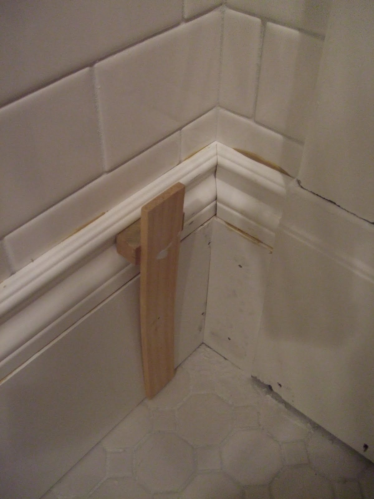 The Smiths: Bathroom Baseboard
