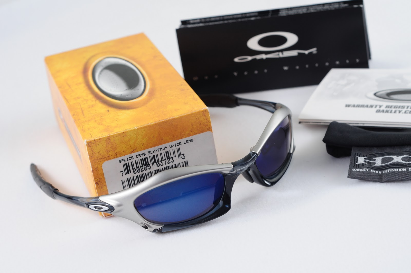 bbaa07df2d0 Splice Crystal Black FMJ Ice Lens. Posted by oakley collector