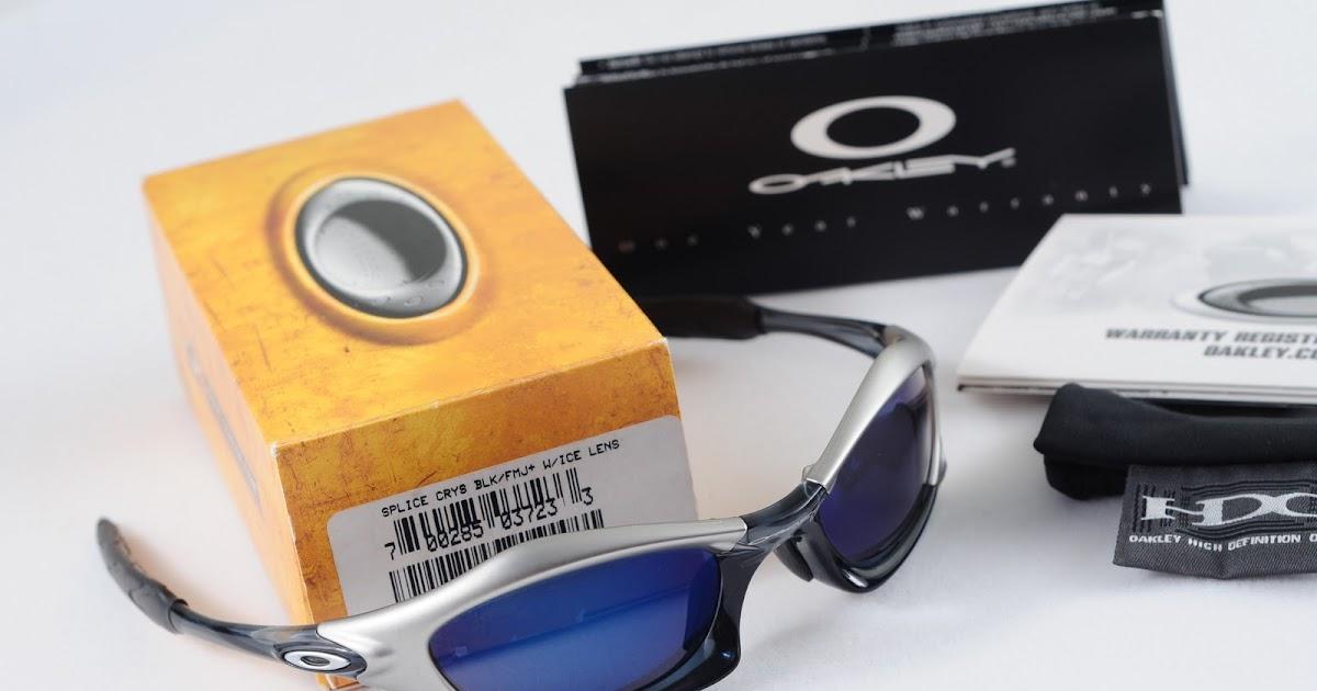 Oakley Saint Splice Crystal Black Fmj Ice Lens