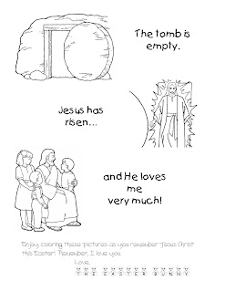 Kidstuff easter coloring pages for Lds easter coloring pages