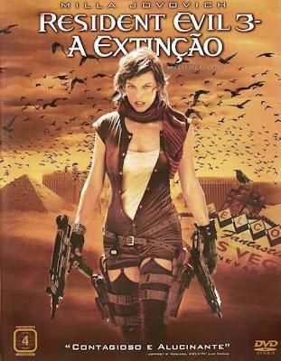 Resident Evil 3: A Extinção - DVDRip Dual Áudio