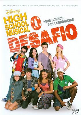 High School Musical: O Desafio - DVDRip Nacional