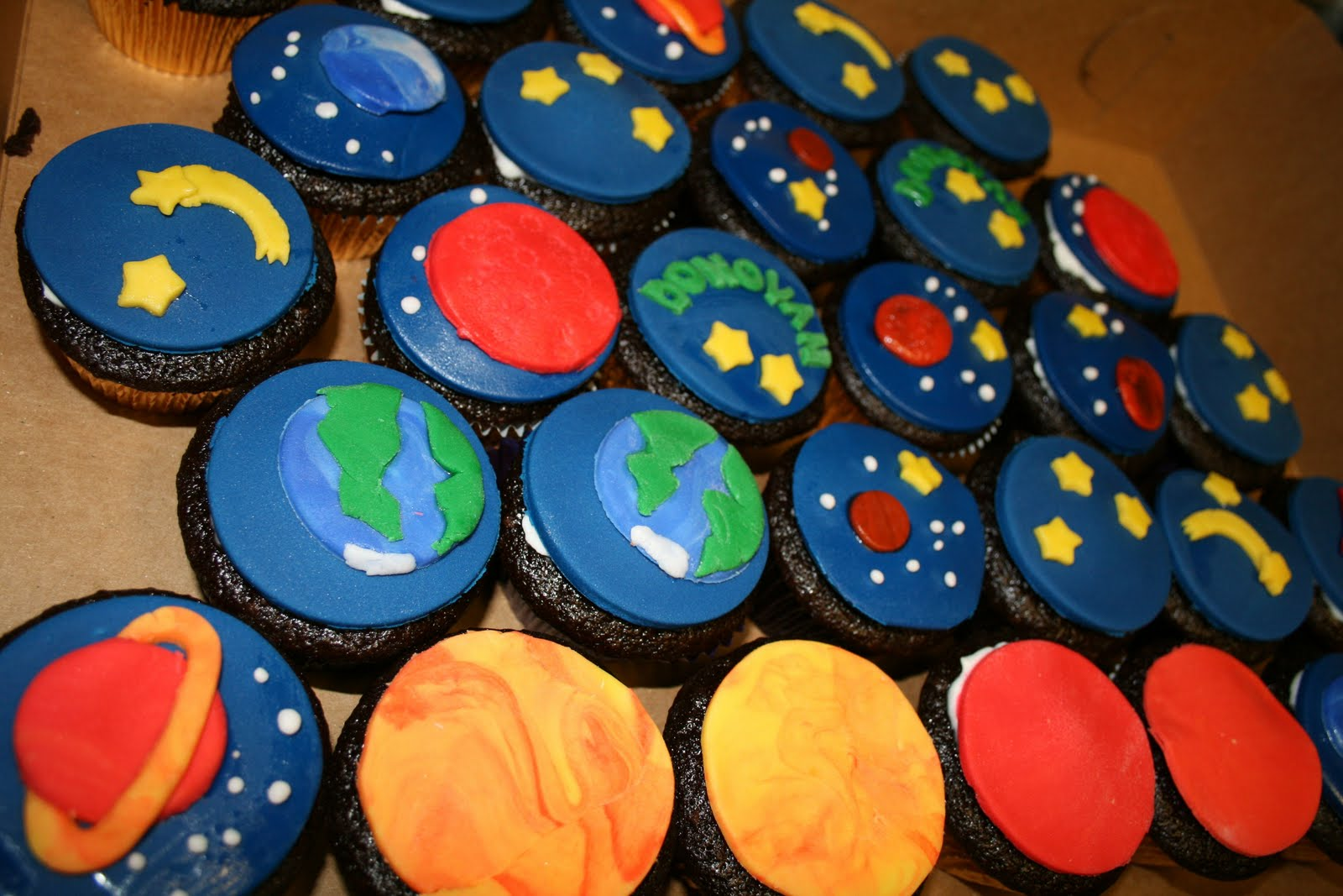 Solar System Cupcake Toppers (page 2) - Pics about space