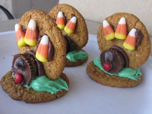 Preschool Crafts for Kids*: Thanksgiving Cookie Turkeys ...