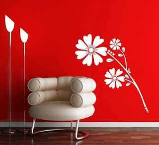 Wall Paint in contrast color to wall