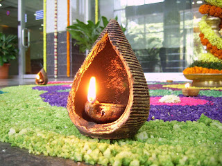 diya indian lamp