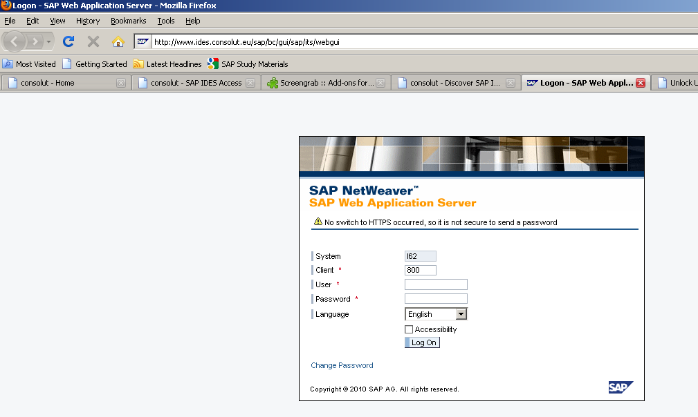 Free online SAP IDES ECC 6 0 Access | iERP us – Integrated