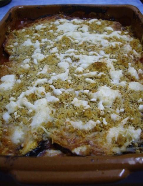 Mis recetas de cocina berenjenas a la parmigiana de for Cocina 5 ingredientes jamie oliver