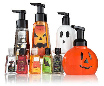 halloween bath and body works