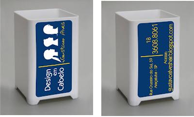 cc6e7e0c9 Quer ganhar um Porta Canetas personalizado do Salão Design em Cabelo by Gustavo  Alves
