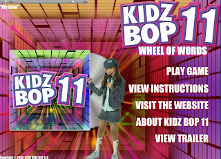 Me and My Neopets: Game: Kidz Bop 11: Wheel of Words - 3000np