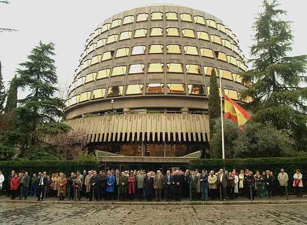 El Tribunal Constitucional.