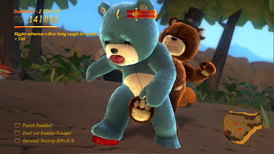 captura naughty bear