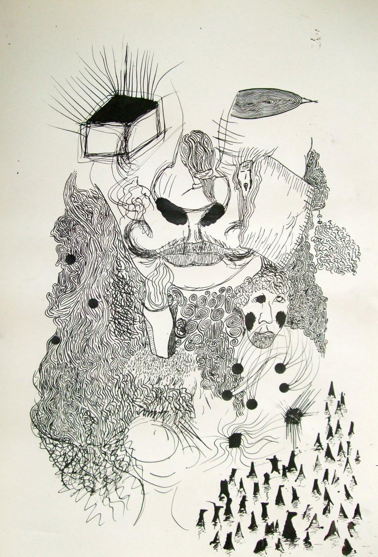 Highschoolart Automatic Drawing High School Art
