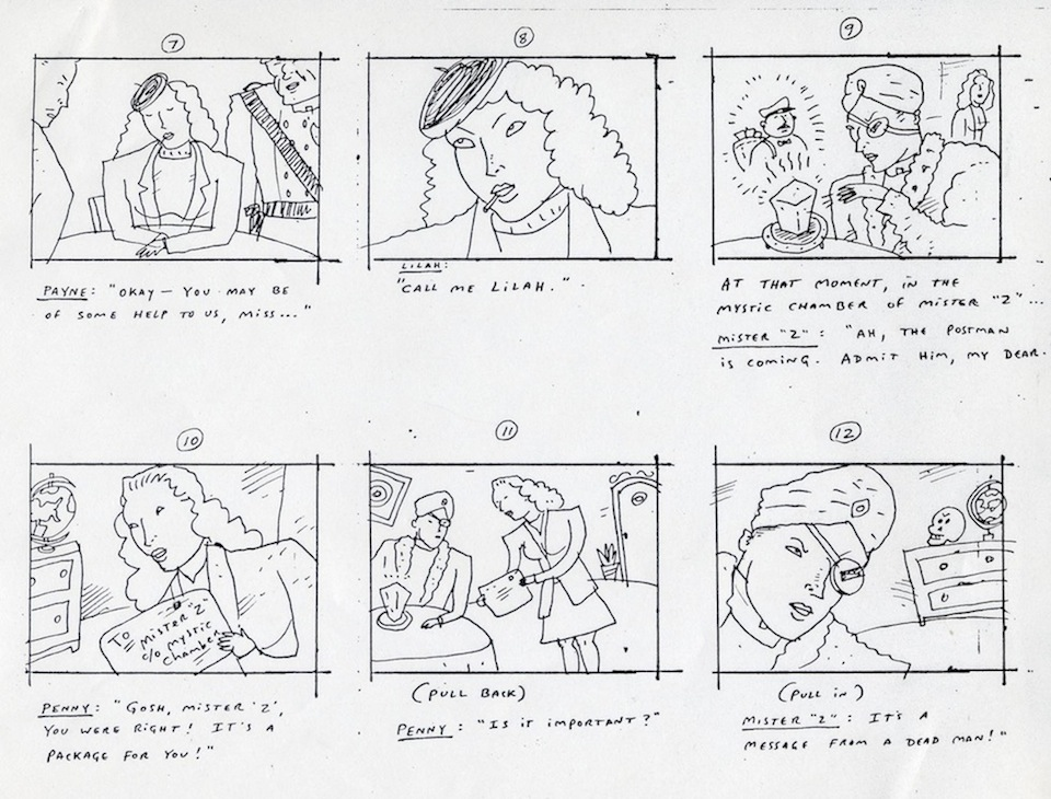 Here Lies RICHARD SALA  - commercial storyboards