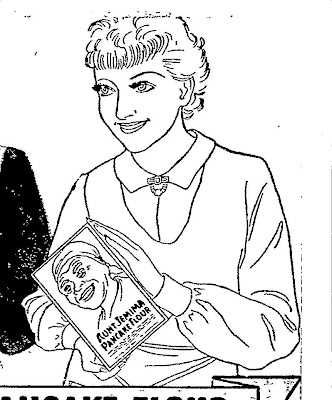 Coloring Pages Of Aunt Jemima Coloring Pages