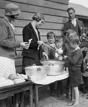 Soup Kitchens For The Homeless In London