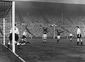 England v Hungary.