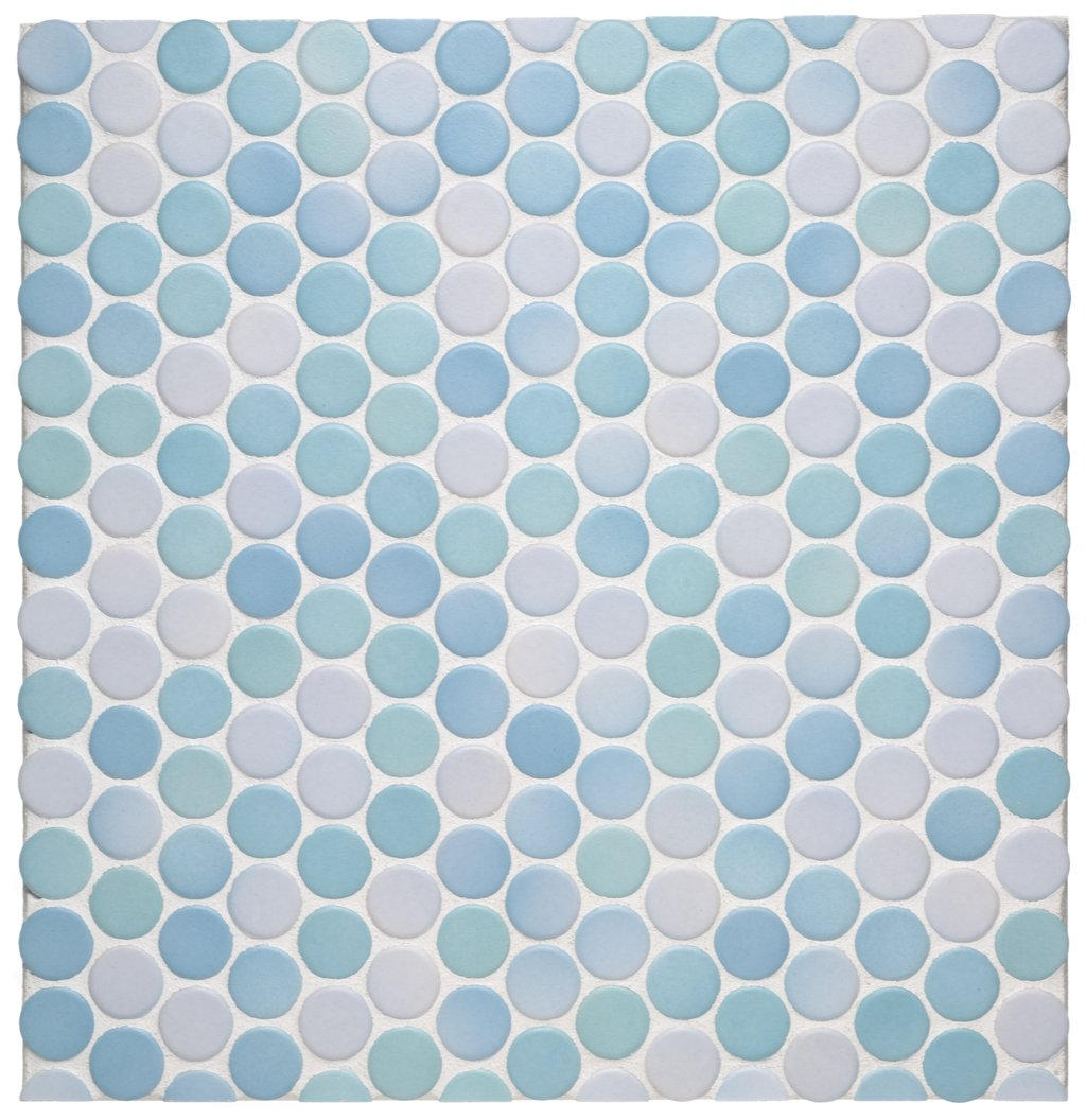 The Tile Shop: Design by Kirsty: Penny Round Tiles