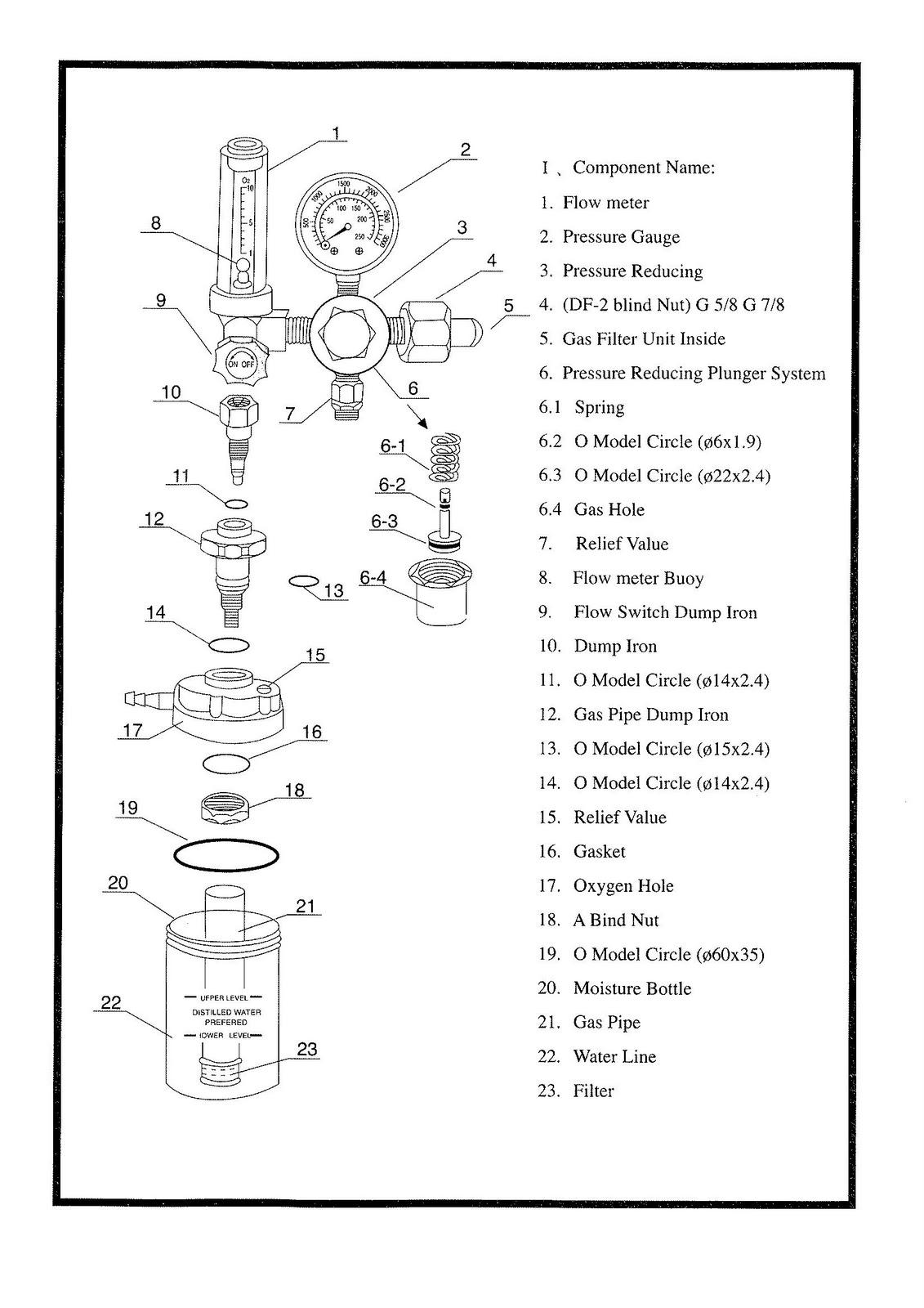 Medical Regulator Instrument Pump Valve And Heat Exchanger