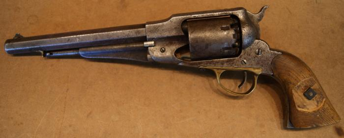 HomePlace - Art's Stuff: Swapping Cylinders in Cap and Ball Revolvers