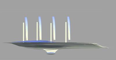 V Ling Yacht Progress Trireme