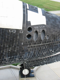 Nose Thrusters Of Space Shuttle Explorer Mock Up