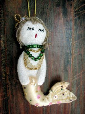 tiny favorite decor mermaid ornament anthropologie