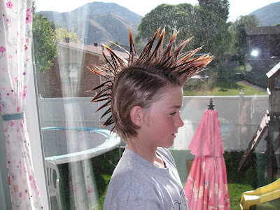 making a mohawk