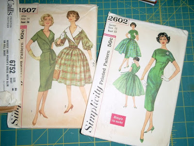 vintage sewing patterns, simplicity 2602