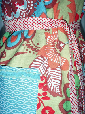 homemade aprons, anthropologie tablecloth upcycled