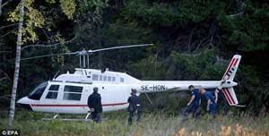 Perampokan Spektakuler Menggunakan Helikopter